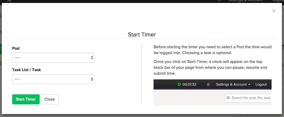 pod-time-starttimer