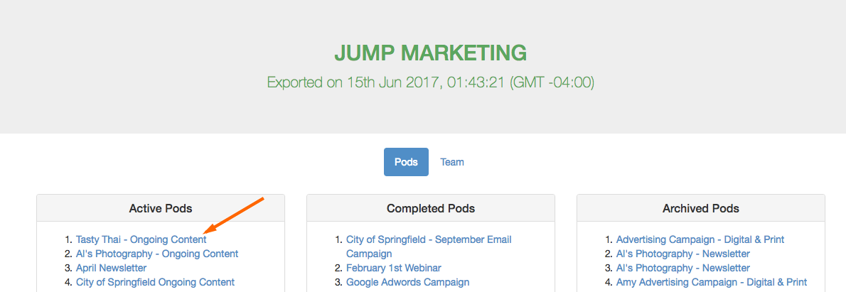 settings-export-examplepod