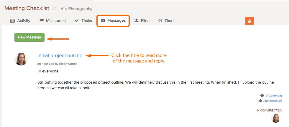 freelancer-messages